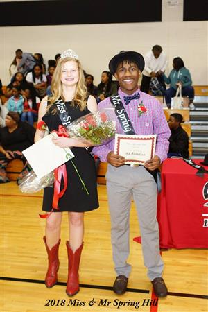 Mr. and Miss Spring Hill