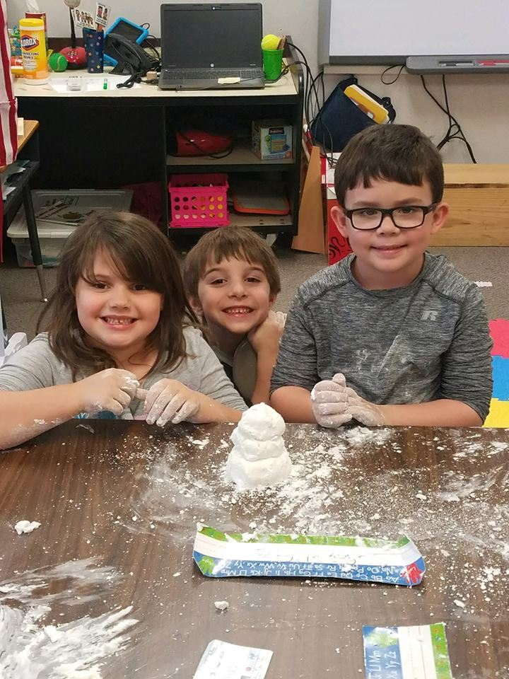 Making Snow in Kindergarten!