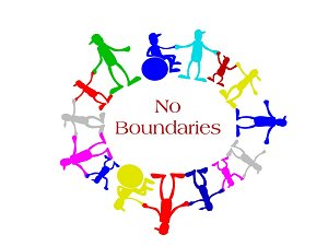 No boundaries graphic