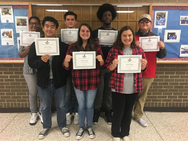 October Citizenship and Scholar Athletes
