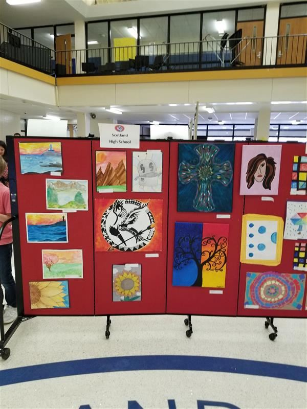 Art Show held at SHS