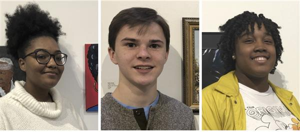 SHS Students participate in UNCP Juried Art Show